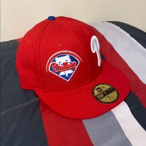 NewEra 7 1/4 inch Philadelphia Phillies Fitted Hat